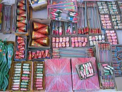 Diwali-Feuerwerk