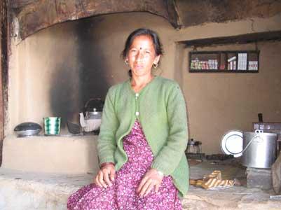 Sie kocht den Tschai und verkauft Kekse in fünf Geschmacksrichtungen