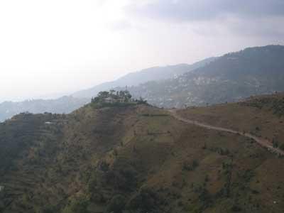 Tief unterwegs kurz vor Dharamsala