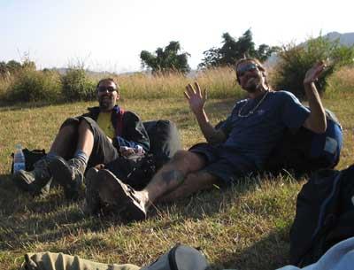Italienische Lebensfreude: Chicco und Zavo
